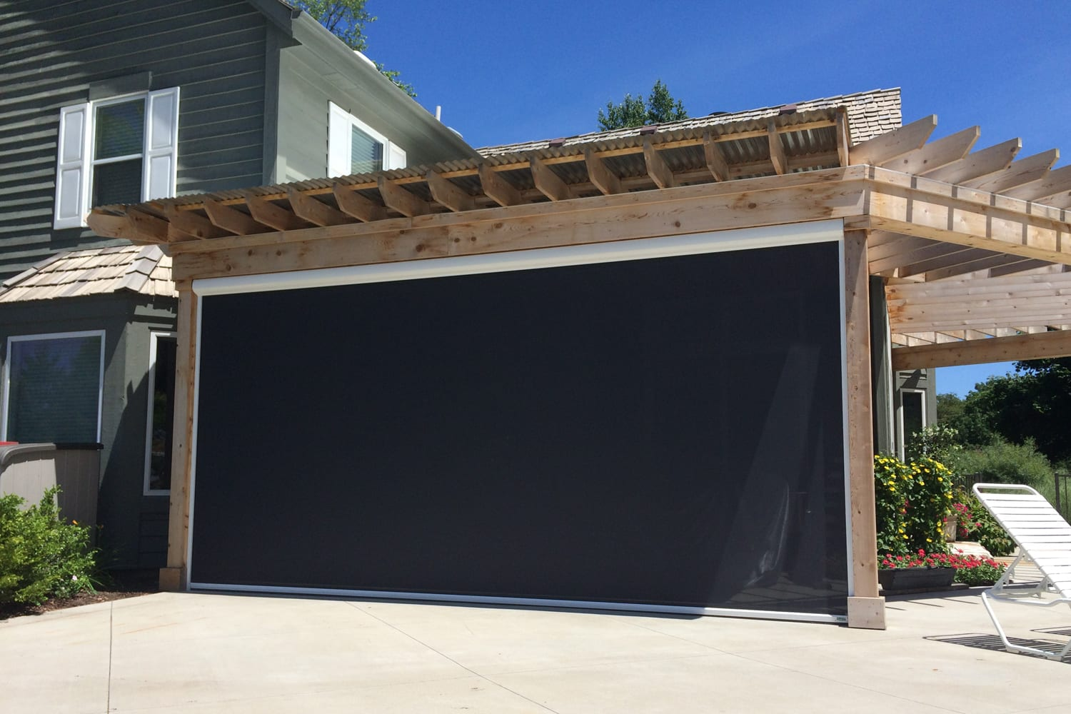 Awnings Amp Shade Solutions Milwaukee Garage Door Repair