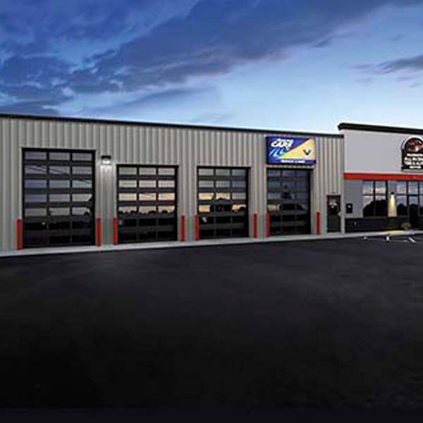 Architectural Commercial Garage Doors