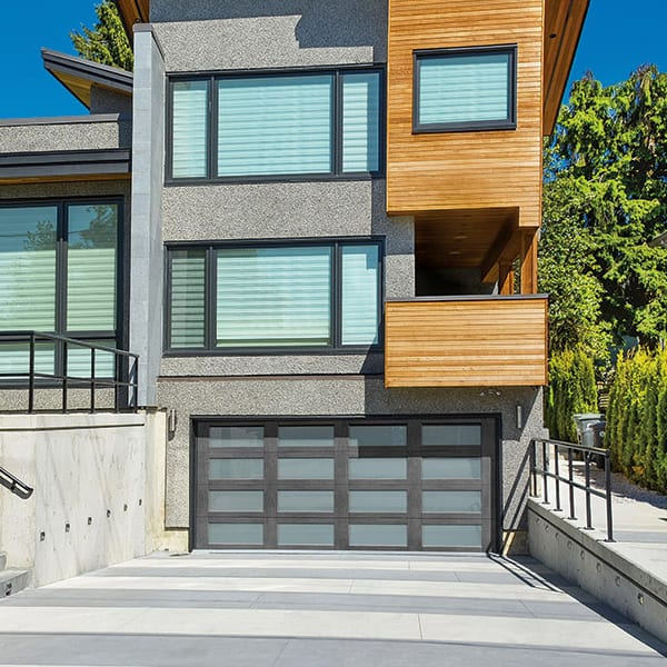 Modern Canyon Ridge Residential Garage Doors