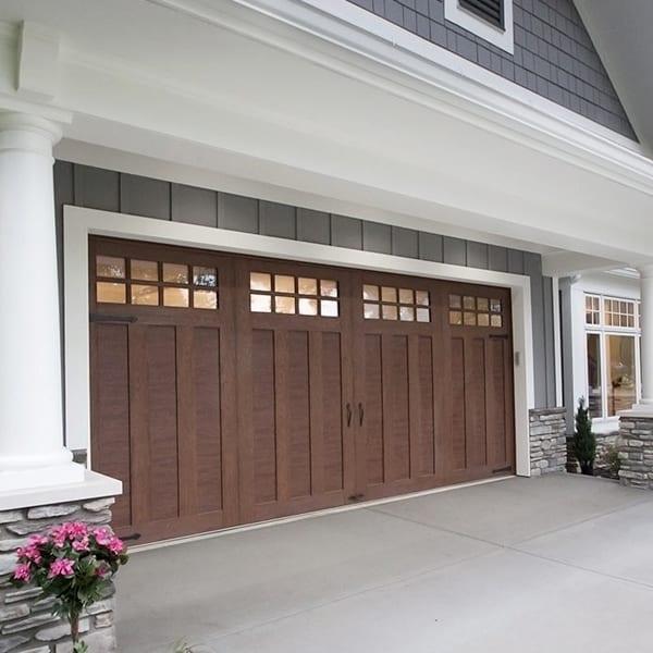 Canyon Ridge Ultra Grain Garage Doors