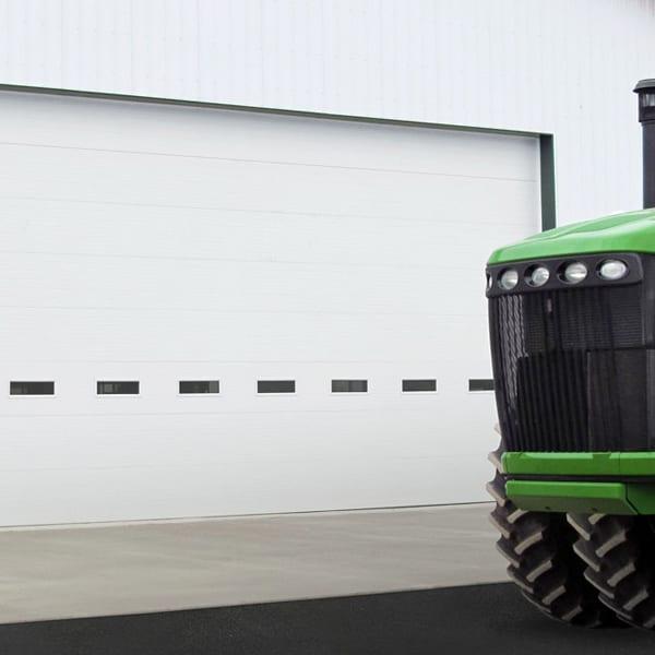 Energy-Efficient Commercial Garage Doors