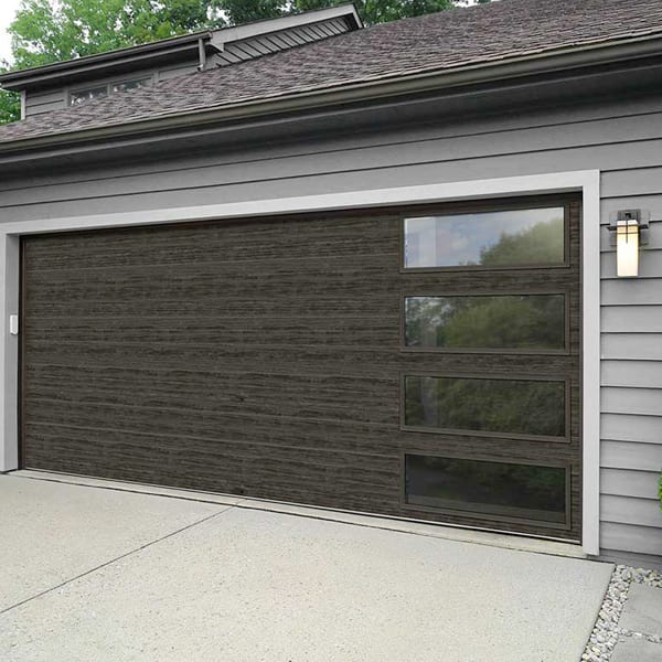 Modern Steel Residential Garage Doors