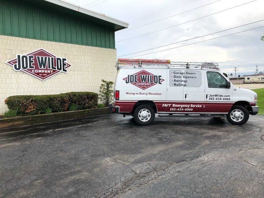 Joe Wilde Company Van