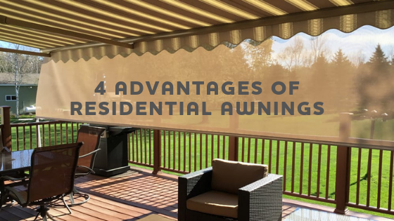4 advantages of residential awnings